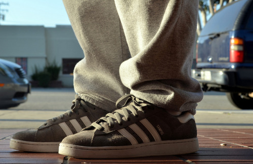 Grey Adidas Campus on Flickr.WDYWT 5/20/2013