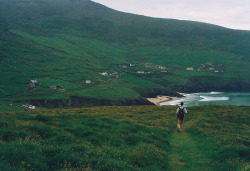 magicsystem:  Dingle Peninsula (by lens face)