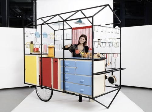 Mobile kitchen by Geneva university of art and design students
