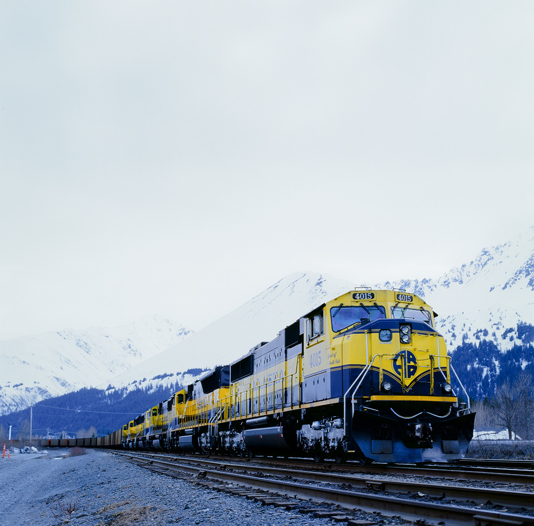 Alaska Railroad Seward, AK | 2013 Part 2 of my Alaska road trip is now up on Full Frame Collective. Click through on the photo to feast on 26 additional images and a small recount of the three days of travel from Liard Hot Springs, British Columbia to Seward, Alaska.