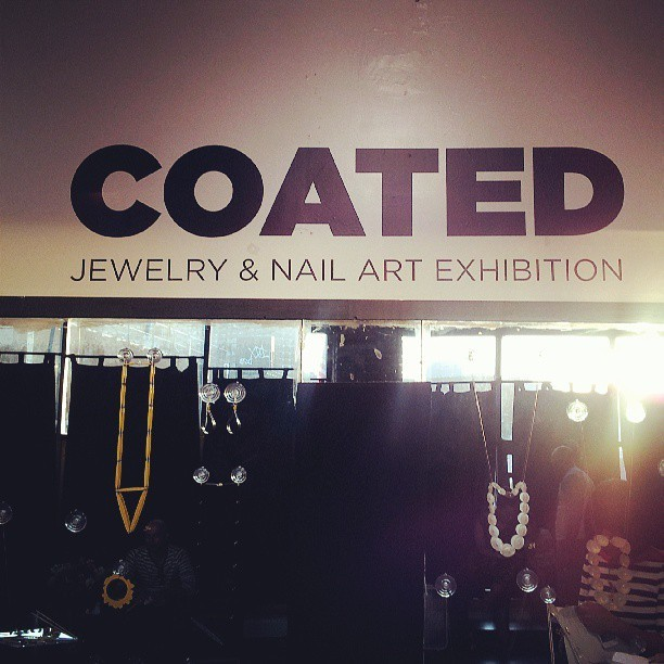 We out'chea! #CoatedExhibition