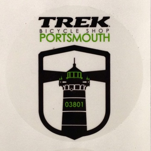 velotone: #TrekPortsmouth 3inch clear vinyl stickers are here. #VelotoneDesign www.trekportsmouth.com to check out all things bicycles or stop by the shop in Portsmouth NH. And don't forget to check out www.velotonedesign.com to see all my work.