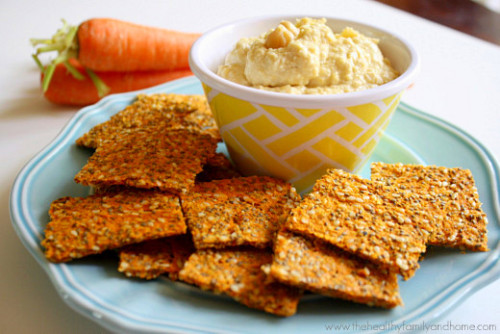 raw-vegan:  Raw Vegan Carrot and Flax Crackers