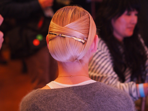 A look at the complex hair by Odile Gilbert of Kérastase