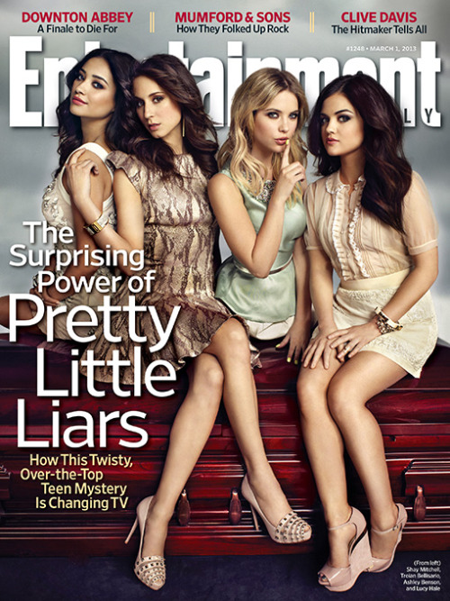 prettyrecaps:heatherannehogan:   Pretty Little Liars' secret isn't that it cracked the social media code. Pretty Little Liars' secret is that it is the most subversively feminist show on television.  preach
