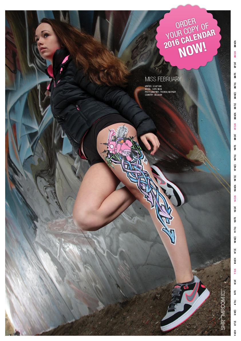 Shriiimp, graffiti on girls  -