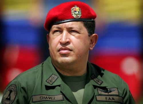 reuters:  Venezuelan president Hugo Chavez dead at 58 years old Venezuelan President Hugo Chavez has died after a two-year battle with cancer, ending the socialist leader's 14-year rule of the South American country, Vice President Nicolas Maduro said in a televised speech.  Seven things i love about mexican G.I. Joe1- taco hat2- destroyer of worlds3-laughing tree4- hungover 5-damage control6-joy killer7-huh huh ha