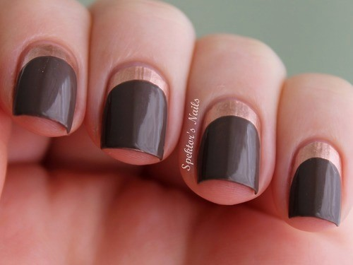 lmnail:  Ruffian Nails with Essie - Penny Talk and Catrice - Lost In Mud,Cosplay,PinCosplay ^-^ http://pinnailart.com/note/425