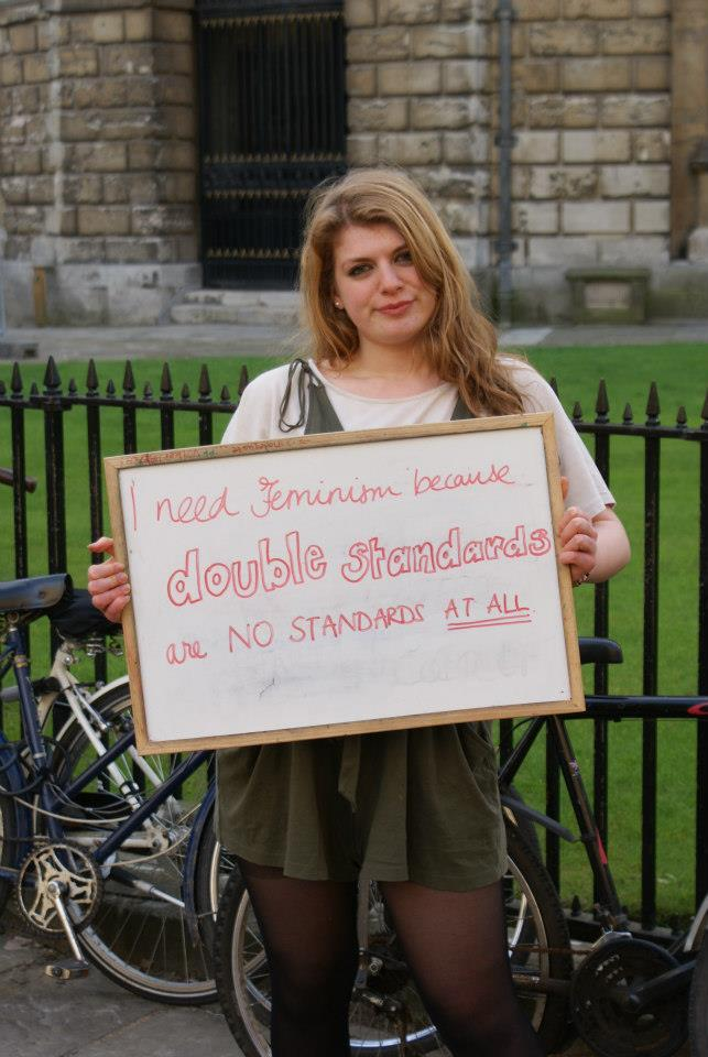 valse-des-fleurs:  Oxford University students on why we need feminism