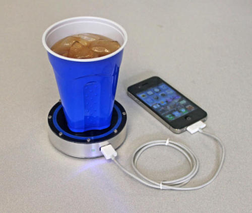 Charge your phone with a cold beer | Crave - CNET