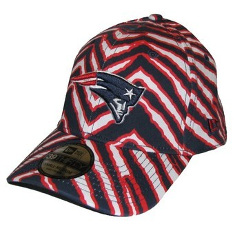 Look what I just bought!!! Patriots Zubaz Hat for $12 anyone? (via Official New England Patriots ProShop - New Era Zubaz High Crown 39Thirty Flex Cap)