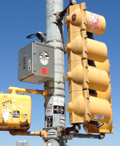 Stop light graphics.