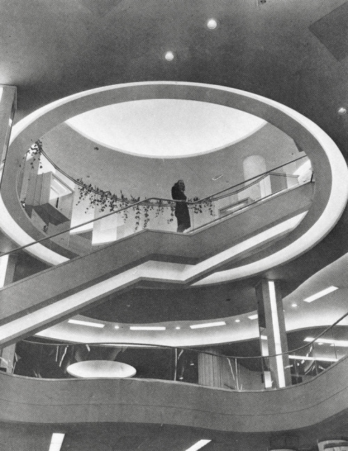 n-architektur:  Bond Store Interior, 1947, Cleveland