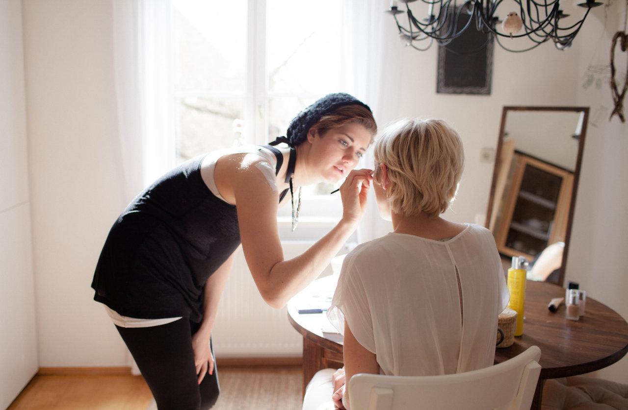 Make up time with Zita! Copyright: Lea Bremicker
