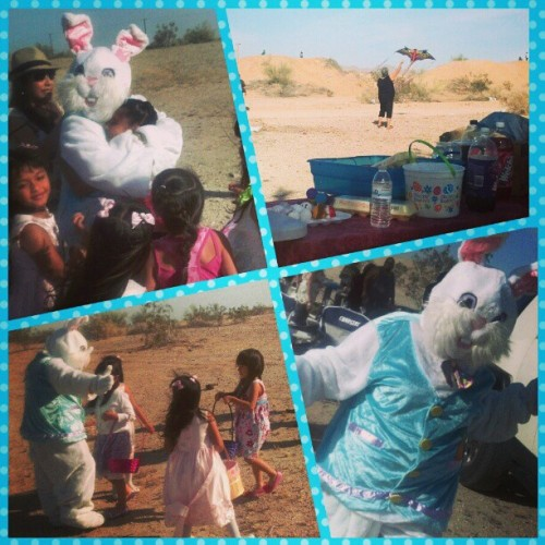 Easter Bunny came thruuu for da kiddies. :) #Happy #Easter  #Fam #SlabCity #traditions