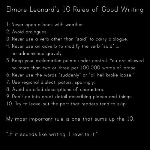 outofprintclothing:  Remembering Elmore Leonard, who died on this day, August 20, in 2013.