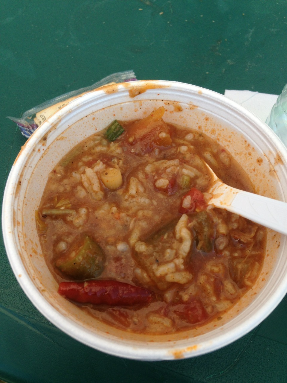 Alligator on a stick & spicy gumbo @ the taste of New Orleans. Yum!    This might be the closest, I'll  ever get to New Orleans.