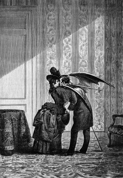 beautilation:  Engraving by Max Ernst, 18th century
