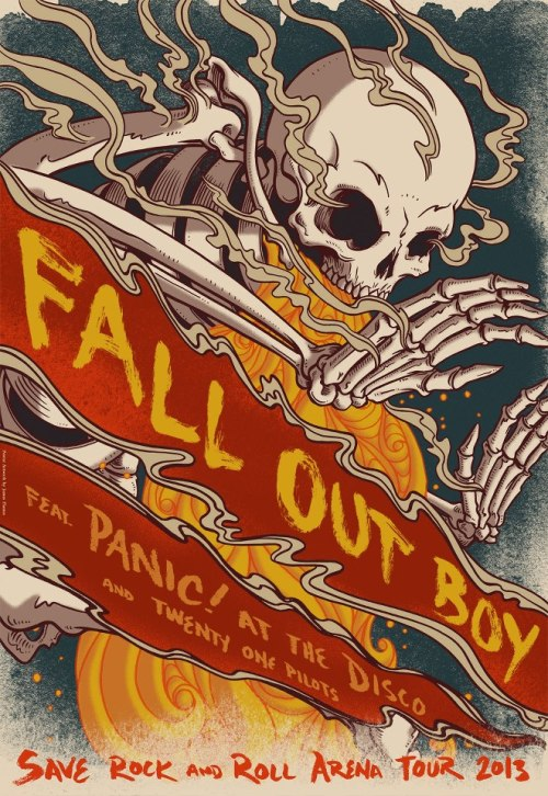 falloutboy:  BIG NEWS: adding another stop on the Save Rock and Roll Fall Arena Tour! Memphis see you on 9/27 at Mud Island Amphitheater with Panic! At The Disco and twenty one pilots. Tickets go on sale 5/31 at 10am CST. 9/5 - Uncasville, CT @ Mohegan Sun - (Tickets) 9/6 - Lowell, MA @ Tsongas Arena - (Tickets)  9/7 - Brooklyn, NY @ Barclays Center - (Tickets)  9/8 - Philadelphia, PA @ Liacouras Center - (Tickets)  9/10 - Fairfax, VA @ Patriot Center - (Tickets)  9/11 - Cleveland, OH @ Wolstein Center - (Tickets)  9/14 - Auburn Hills, MI @ Palace of Auburn Hills - (Tickets)  9/15 - Toronto, ON @ Echo Beach at Molson Canadian Amphitheatre (Tickets) 9/18 - Broomfield, CO @ First Bank Center - (Tickets)  9/20 - Anaheim, CA @ Honda Center - (Tickets) 9/21 - San Francisco, CA @ America's Cup Pavilion - (Tickets)  9/22 - San Diego, CA @ Valley View Casino Center - (Tickets)  9/25 - The Woodlands, TX @ Cynthia Woods Mitchell Pavilion - (Tickets)  9/26 - Grand Prairie, TX @ Verizon Theatre at Grand Prarie - (Tickets) 9/27 - Memphis, TN @ Mud Island Amphitheater (On sale 5/31 at 10am CST) 9/28 - Alpharetta, GA @ Verizon Wireless Amphitheatre at Encore - (Tickets)  9/29 - Tampa, FL @ USF Sun Dome - (Tickets)