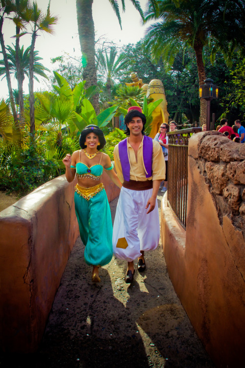 belleieve:  Aladdin and Jasmine (by abelle2)