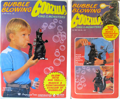 Bubble Godzilla box