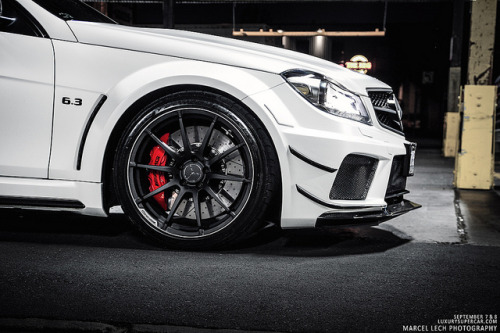amazingcars:  C63 AMG Black Series by Marcel Lech on Flickr.