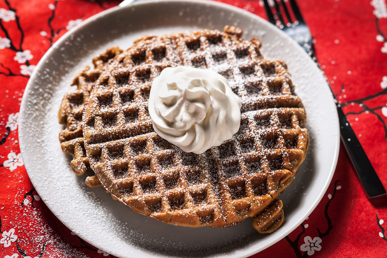 Gingerbread Waffles - Gourmet: February 1987