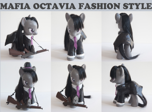 Mafia Octavia MLP CUSTOM Fashion Style by ~alltheApples