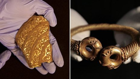 "Richard III: Greatest archaeological discovery of all? It has attracted global attention with its blend of detective work and dark historical deeds but where does the discovery of Richard III's grave rate among England's greatest archaeological finds? From one perspective, the Greyfriars skeleton is a collection of old bones - surely treasure should be more eye-catching? But the remains have attracted the sort of attention which puts wallet-busting finds like the Staffordshire Hoard and Crosby Garrett in the shade. Why? The impact is undeniable, from queues to see a rapidly organised exhibition in Leicester to nearly 20,000 signing an e-petition to get the bones buried in York. Mike Heyworth, director of the Council for British Archaeology, said: ""In the public consciousness it is almost always the finds that are the most financially valuable which make the impression. ""You hear about a metal detectorist who has been paid £3m or so for reporting finding something gold and glittery, but what does that tell us about the human story?  Read more here."