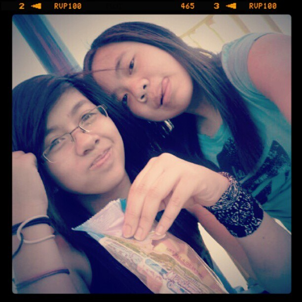 Omg @monicorns we were such dorks. Pfft we still are. ILY :D #throwback #tbt #me