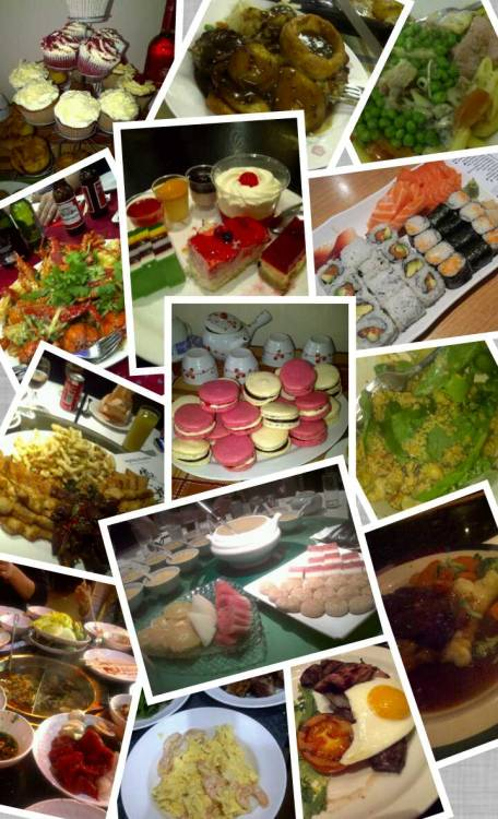 More #food pics! I had too much fun with the PicCollage app lol