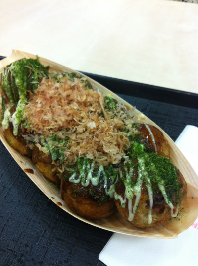 Takoyaki for snacks