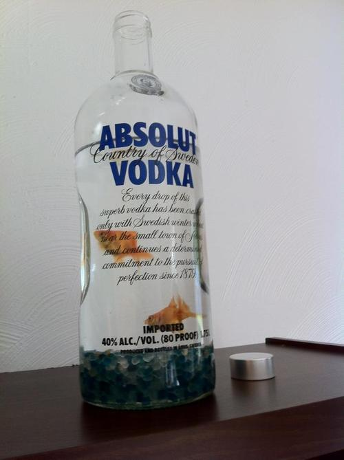 "I'd prefer my vodka bottlesa) actually filled with vodka (something better than Absolut ideally)b) not teeming with ""decorative"" animal cruelty"