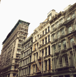 clubmonaco:  It's funny to think that Soho was once cheap real estate. I need a time machine. -Ryan Plett