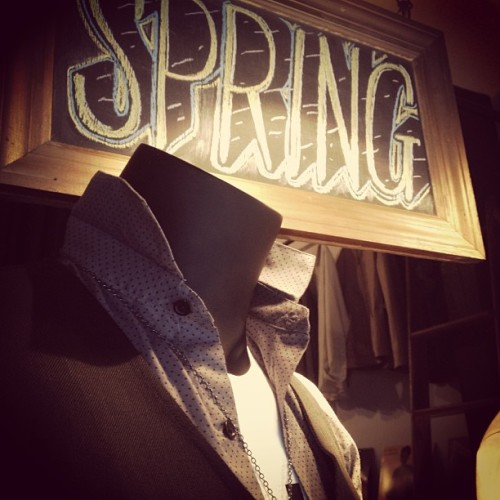 #menswear in #NYC! #Spring is here. #fashion 74 Orchard st. #LES