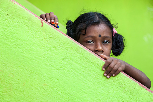 beautiful-india:  Girl from Hanumanthapuram by bmahesh on Flickr.