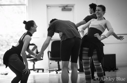During rehearsal at Carolina BalletPhoto y Ashley Blue