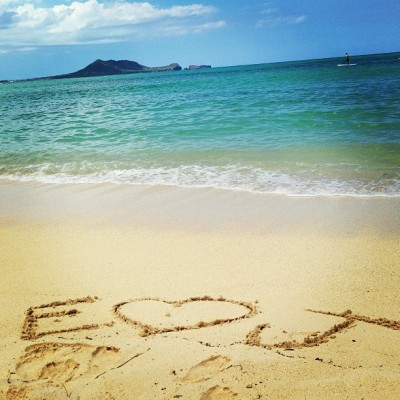 Est. 052012 💕👫 (at Lanikai Beach)