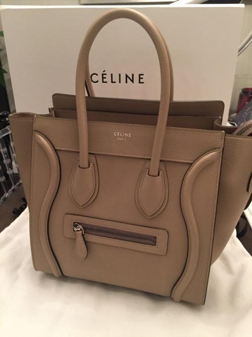 celine micro luggage size