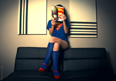 Sexy Supergirl tribute photoshoot from the beautiful Carolina Jimenez Garcia!  [See More]