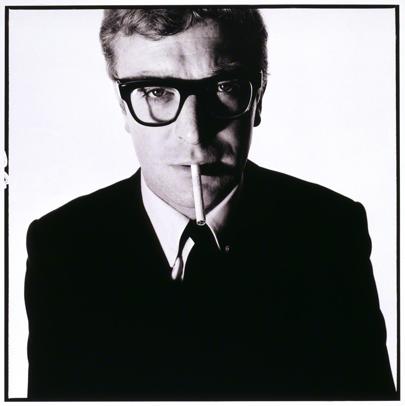 Happy Birthday, Michael Caine! (photograph by David Bailey, 1965) via The National Portrait Gallery.