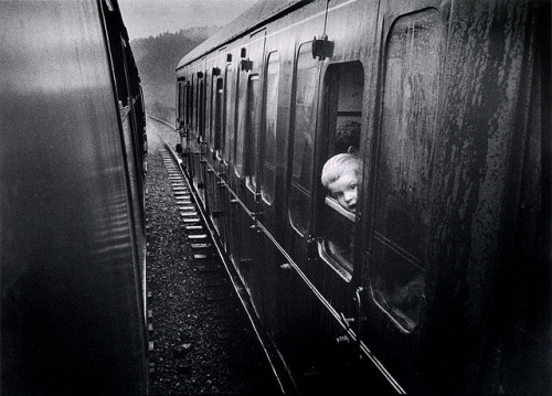 unnaturalmagic:  boy in a train by andysandyrb67 on Flickr.