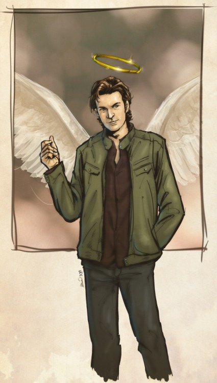theboyofsilence:  Supernatural - Gabriel by ~lenneth