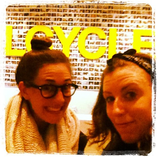 Sweaty Betties. @partypulsford #soulcycle / on Instagram http://instagr.am/p/VqDcsSrnA8/
