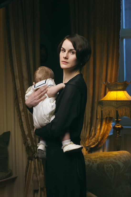 First photo from season 4 of Downton Abbey