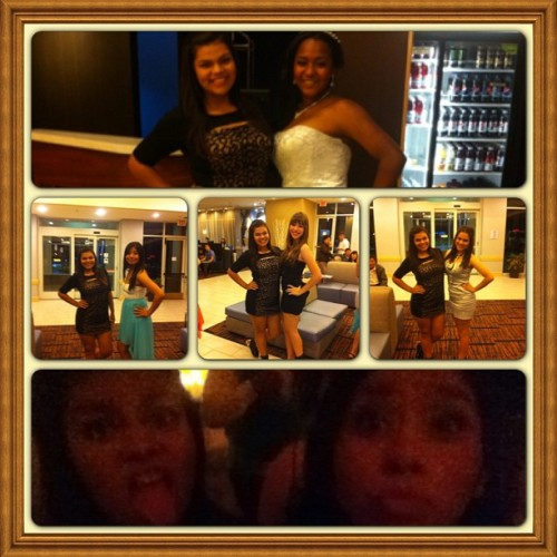 Thnx for a great night naomi!!!! @naay_caakes Had fun with my girls @alyssa_thecatholic @mariinnaa_ @aabbby_ @himichelle_ 😍😍💃.. Thnx to @dannyboi_9715  for helping me pic the dress😉