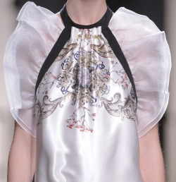 Prabal Gurung Fall 2013 Runway Details