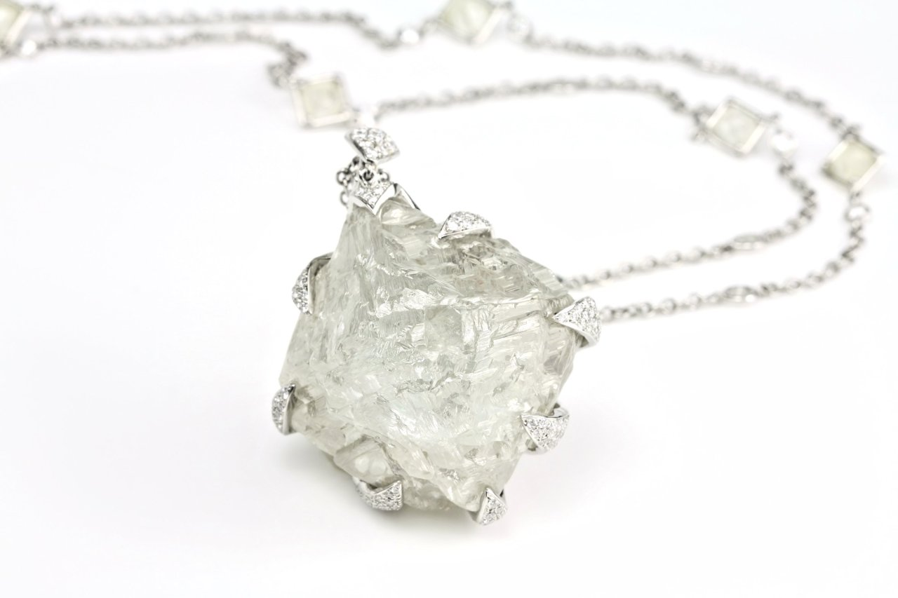 ditrjewelry:  The Angola Star rough diamond is over 210 carats!