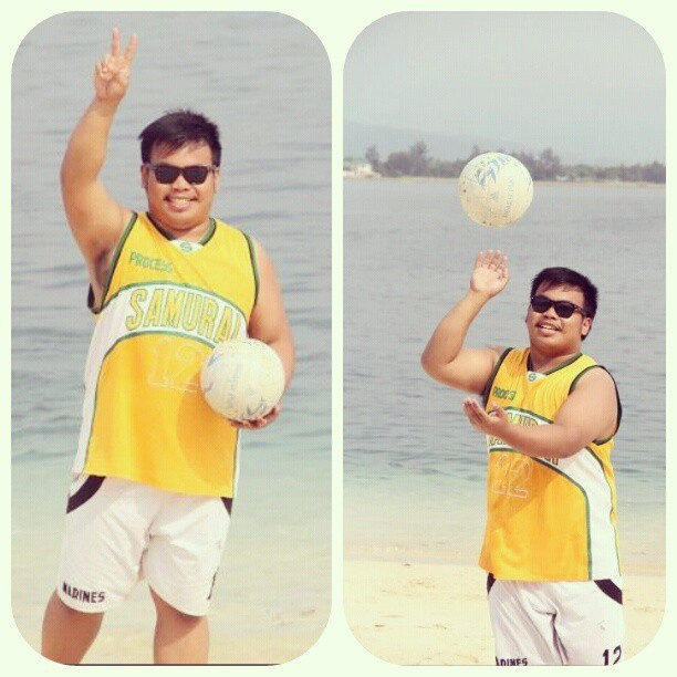 #beach volleyball @jbry512 :) #Zambales #PotipotIsland #throwback