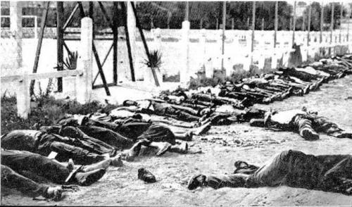 djazairi:  8 Mai 1945, To never forget this day. France killed 45000 Algerian.  it was a massacre in Algeria. May 8th,1945